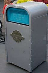 Push, the talking trash can