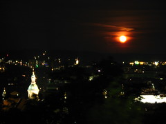 2007 07 01 - 0583 - Graz - View from Schlossberg (thisisbossi) Tags: moon night austria sterreich graz moonillusion