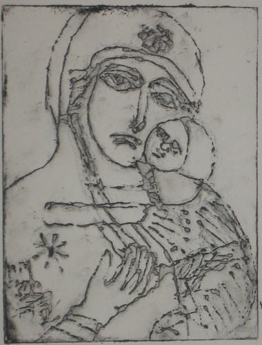 Vladimir Madonna semi-open bite