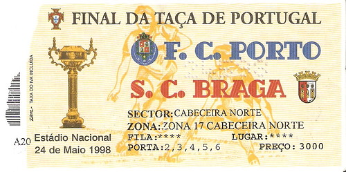 Final da Taça de Portugal - Braga vs Porto