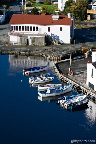 Boats in Quidi Vidi