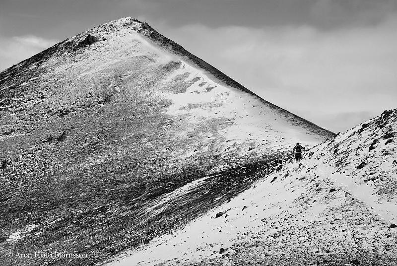 Climbing Mt. Vikrafell