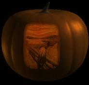 Jack O'Lantern Screen Saver ~ The Scream