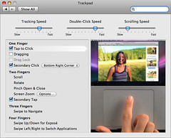 how to turn off trackpad acceleration on mac
