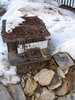 Antique Stove (Fire), D.H. Lawrence Ranch, near Taos, New Mexico, February 2007, photo © 2007-2008 by QuoinMonkey. All rights reserved.
