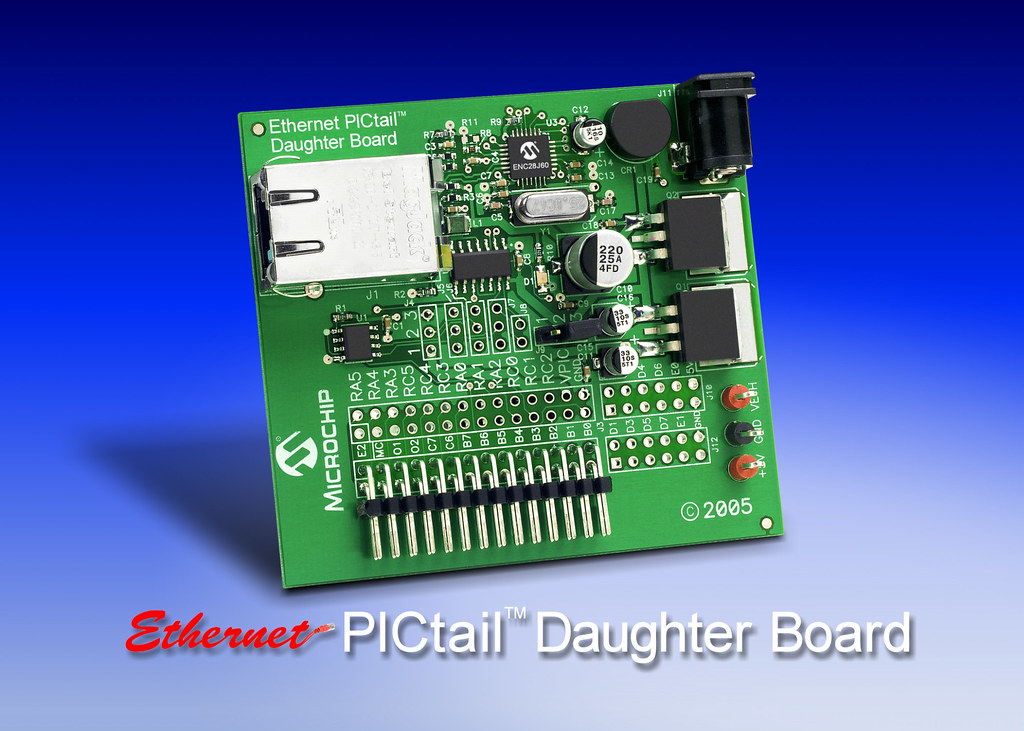 Ethernet PICtail™ Daughter Board