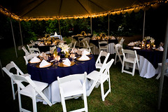 Reception Tent (sfPhotocraft) Tags: wedding dinner chairs tent reception tables