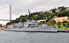 "Turkish Navy museum ship TCG ""Gayret"", ex-US Navy USS Eversole, Gearing-class destroyer built in 1946, preparing for tow, Istanbul, Turkey, 19 October 2008 (Ivan S. Abrams) Tags: docks turkey boats support ships istanbul taxis getty tugs straits ports blacksea ferries harbors bosphorus cruisers roro nato tugboats gettyimages vessels freighters tankers anatolia cruiseships smrgsbord liners warships ferryboats countermeasure workboats fireboats policeboats seaofmarmara ottomanempire bulker dardenelles boatswater boatsocean passengerships chokepoints onlythebestare museumships bulkers ivansabrams trainplanepro feribots ivanabrams servicecraft gettyimagesandtheflickrcollection copyrightivansabramsallrightsreservedunauthorizeduseofthisimageisprohibited tucson3985gmailcom trainferries marmarisproject destroyersfrigatesgunboatspatrol craftmissile boatssubmarinescombat shipsresearch vesselssteamshipssteam shipssetam linersminesweepersmine craftnaval vesselsnato naviesfishing boatsfishermenspeedboatspower copyrightivansafyanabrams2009allrightsreservedunauthorizeduseprohibitedbylawpropertyofivansafyanabrams unauthorizeduseconstitutestheft thisphotographwasmadebyivansafyanabramswhoretainsallrightstheretoc2009ivansafyanabrams abramsandmcdanielinternationallawandeconomicdiplomacy ivansabramsarizonaattorney ivansabramsbauniversityofpittsburghjduniversityofpittsburghllmuniversityofarizonainternationallawyer"
