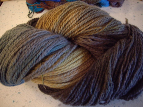 Cascade Eco Wool in Acid Dye Colors