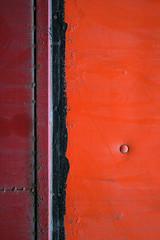 Black Borderline (photoalternative) Tags: red orange abstract black minimalism