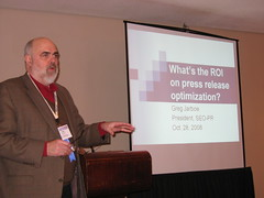 Greg Jarboe at PRSA 2008