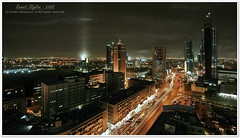 Kuwait Skyline - 2008 (khalid almasoud) Tags: street city skyline work canon big al altitude famous country group malls center 45 area salem kuwait  2008 meters voluntary fahd       5photosaday     400d