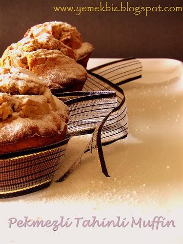 Pekmezli Tahinli Muffin