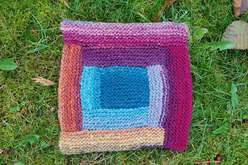 Noro paintbox blanket
