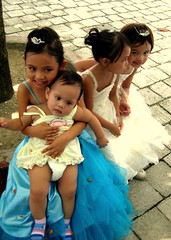 flower girls () Tags: girls baby tiara flower ice kids little ella paula gwyneth