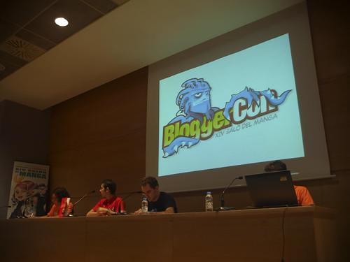 La BloggerCon del Salón Manga ¡Que dure! [Crónica]