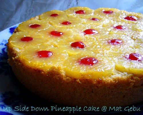 Up Side Down Pineapple Cake