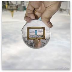(d)illusions of Bangkok III (Michael LaPalme) Tags: art thailand frames cityscape bangkok illusion recursive escher droste thonglor ekkamai watpasi