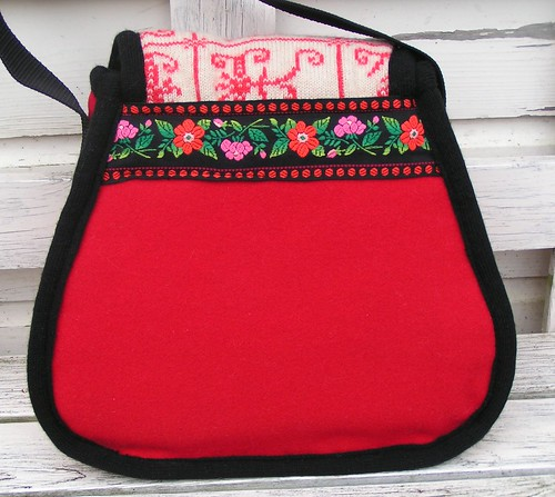 winterwarm red bag