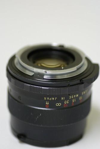 Mamiya/Sekor 55mm f/1.8 (M42)