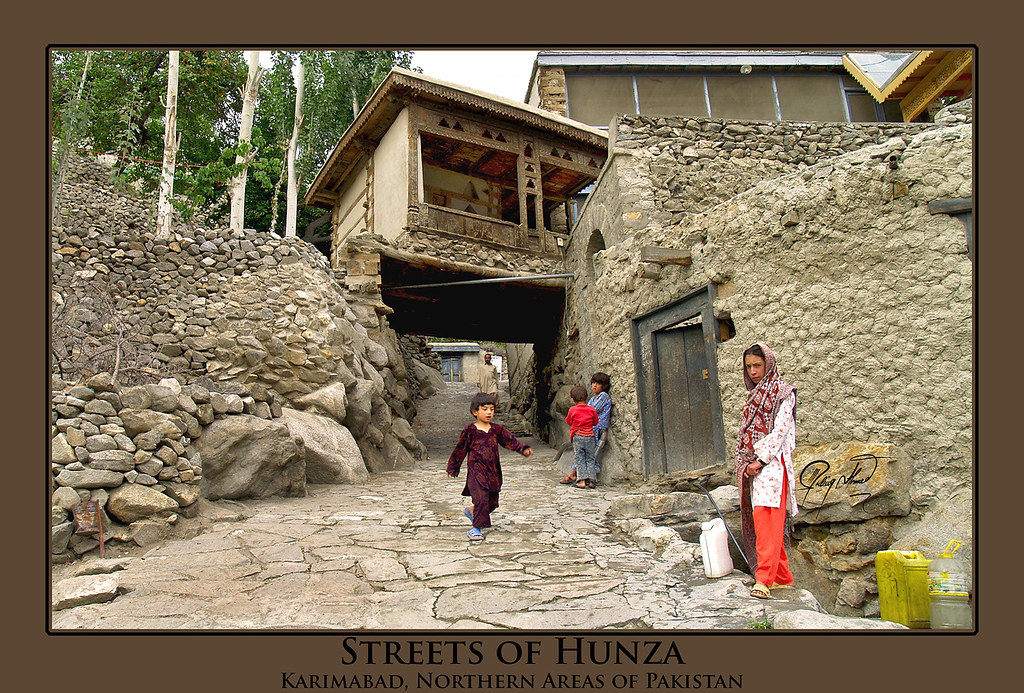 Streets of Hunza