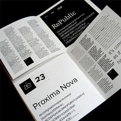 FontBooklet No. 1
