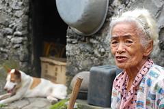 Old Lady in Chavayan Sabtang Island (MeloVillareal) Tags: island batanes sabtang