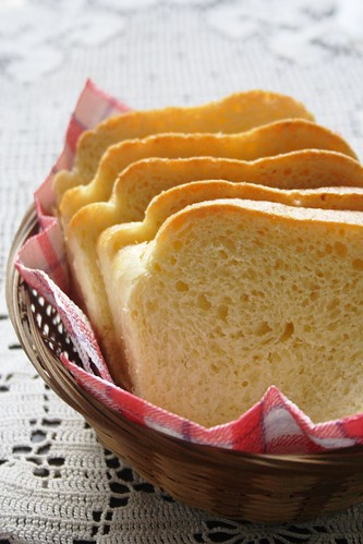 Brioche Loaf, sliced