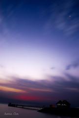 Pristine .. (3abbas) Tags: moon beach clouds photography nikon kuwait d200 1870 seascpae 3abbas