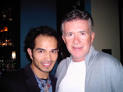 Diegodiego & Alan Thicke (gatolocomusic) Tags: music famous entertainment spanish international worldwide latin actor celebrities popular diegodiego