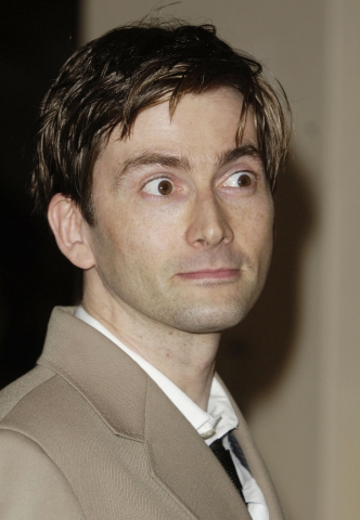 David Tennant Visits My Theatre. When I'm Not There.