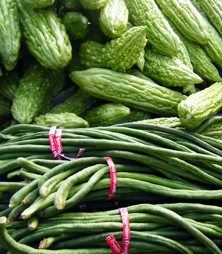Bitter Melon and Green Beans