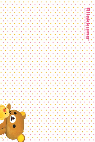 iPhone / iPod touch Wallpaper rilakkuma6