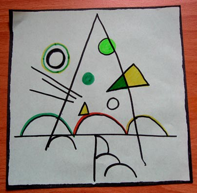 Kandinsky Tree Lesson http://juliekintaiwan.wordpress.com/2008/12/06/art-lesson-kandinsky/