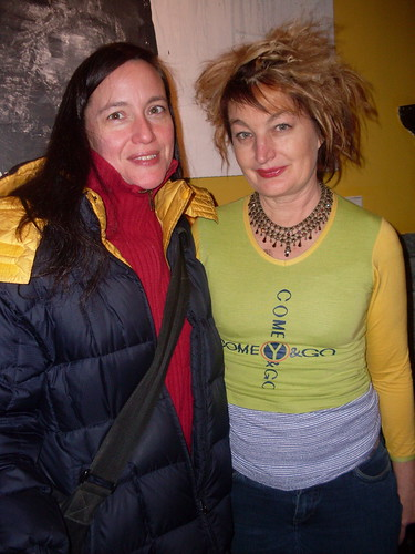 Me and Jane Siberry (Issa)