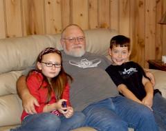 Grandpa and the kids (wyo92) Tags: family kids grandpa granddaughter grandson wyoming worland