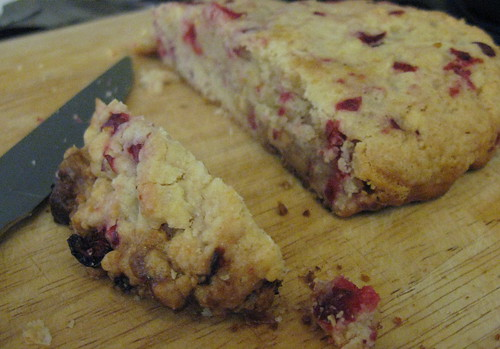 Cranberry-Citrus White Chocolate Biscotti