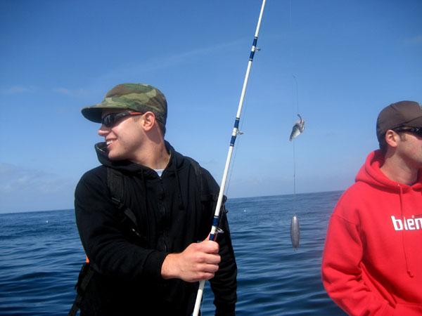 Matt the great white fish slayer!