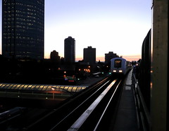 This is the skytrain Paul (favourite waste of time) Tags: morning station sunrise photobook skytrain metrotown
