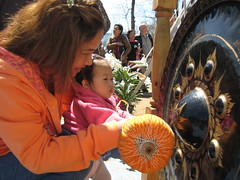 Songkran at Wat Boston