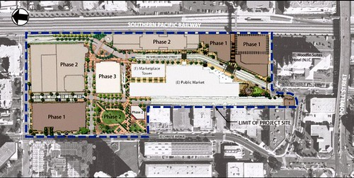 TMG's phased site plan (by: TMG Partners)