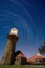 Star Trails - Barrenjoey Lighthouse by Night (-yury-) Tags: longexposure nightphotography sky lighthouse night canon stars landscape star sydney trails australia nsw 5d palmbeach barrenjoey barranjoey abigfave