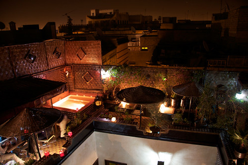 terrace dar najat marrakech morocco