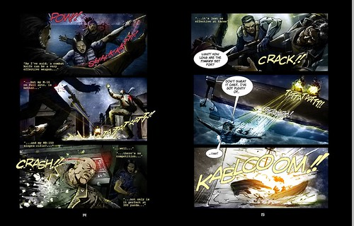 Syphon Filter: Logan's Shadow for PS2 (Comic)