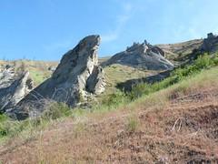 . . . and more pinnacles