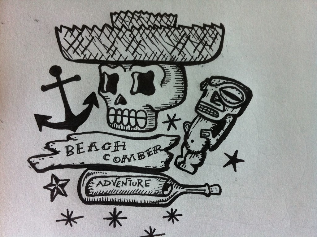 Beachcomber Tattoo