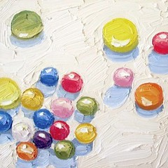 "Nicole Leigh Smith, Gum Balls, 6"" x 6"""