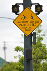 New Steel Bridge signs-2