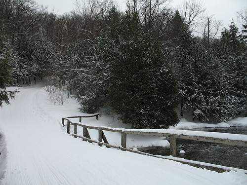Meech Lake bridge on Trail 36