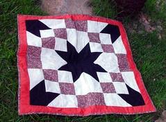 Road to Oklahoma (Patchdreams) Tags: de hand quilt artesanato made kits patchwork prato mesa caminho descanso painel trabalhosmanuais botao pan forrado